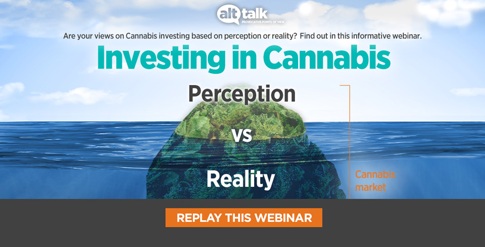 Investing in Cannabis webinar register